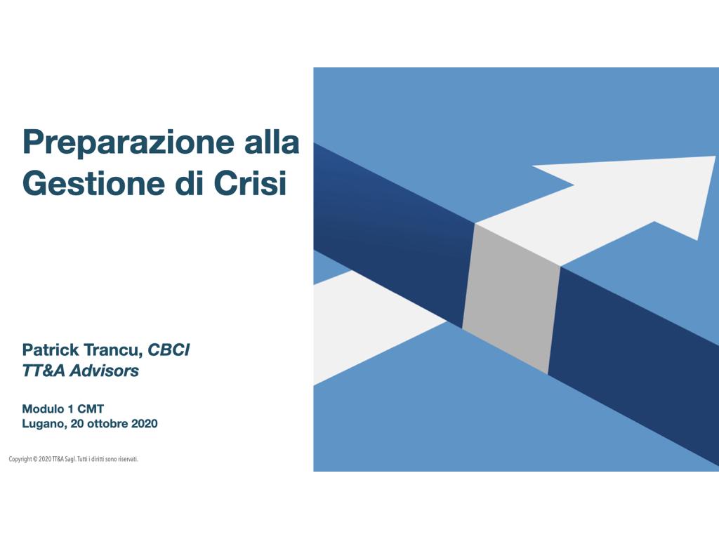 Formazione Gestione di Crisi